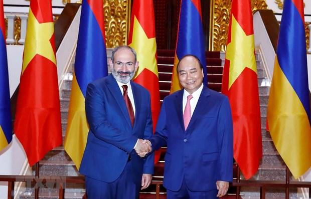 Vietnam, Armenia increase friendly exchanges