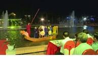 Quan ho folk singing performance on boat on September 1st