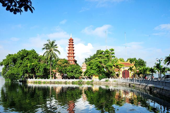 Ancient Tran Quoc pagoda