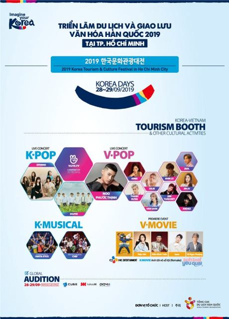 2019 Korea Tourism and Cultural Festival in Ho Chi Minh city