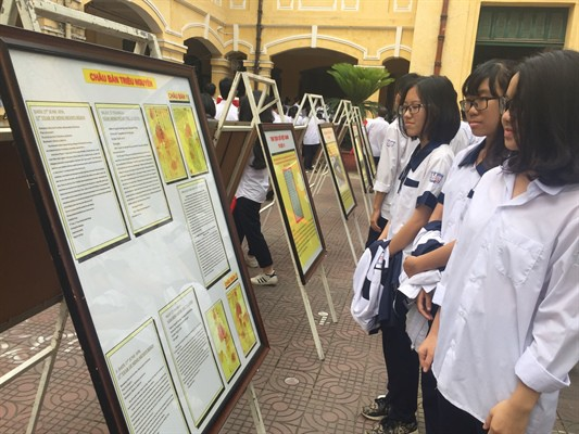 Exhibition affirming Vietnam's sovereignty over Paracel and Spratly in Khanh Hoa