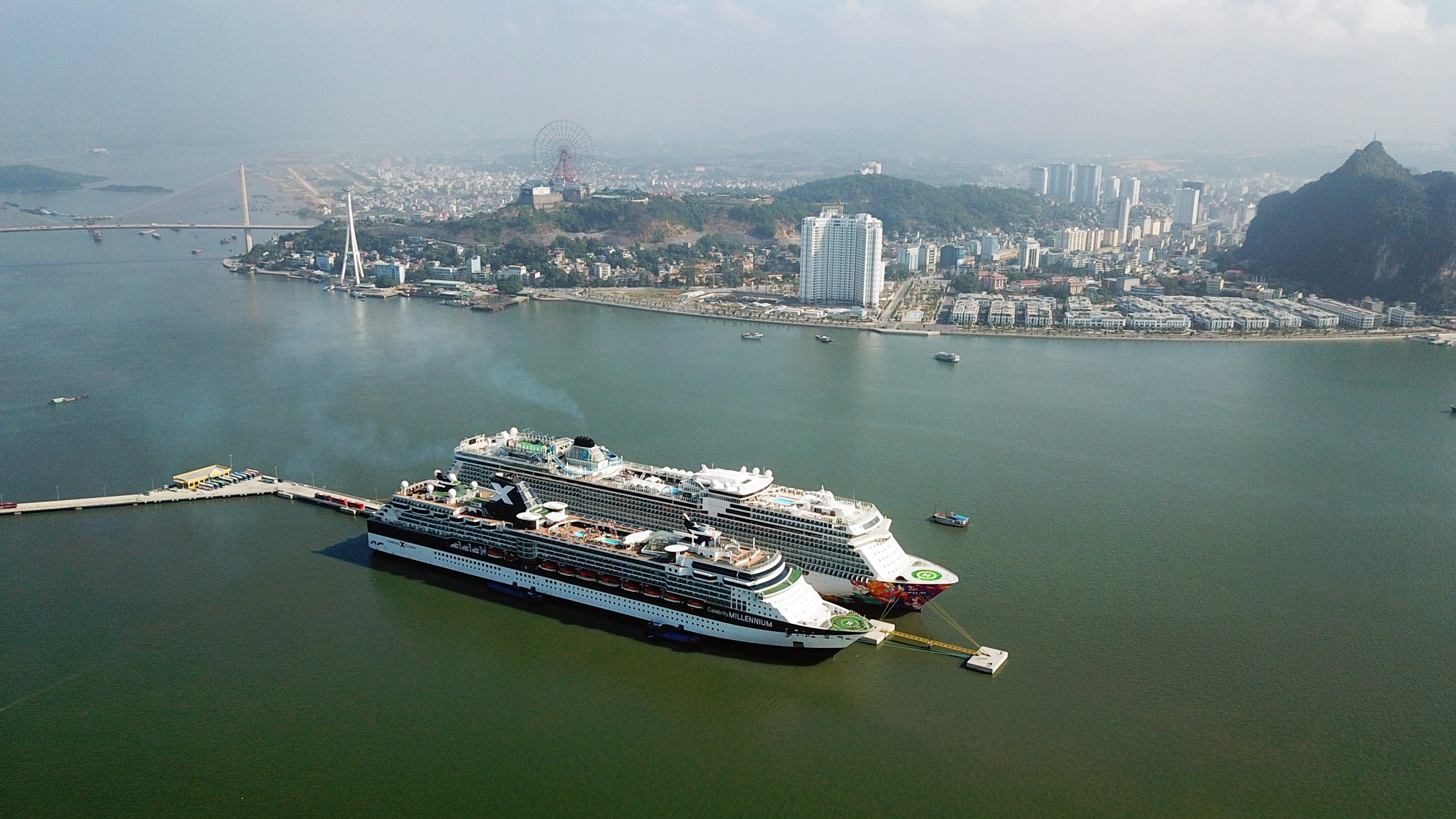 Ha Long International Cruise Port greets 42,000 foreign tourists