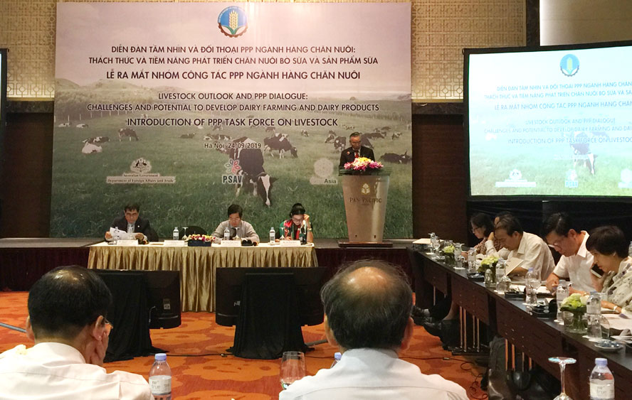 Vietnam ranks sixth in Asia on milk output