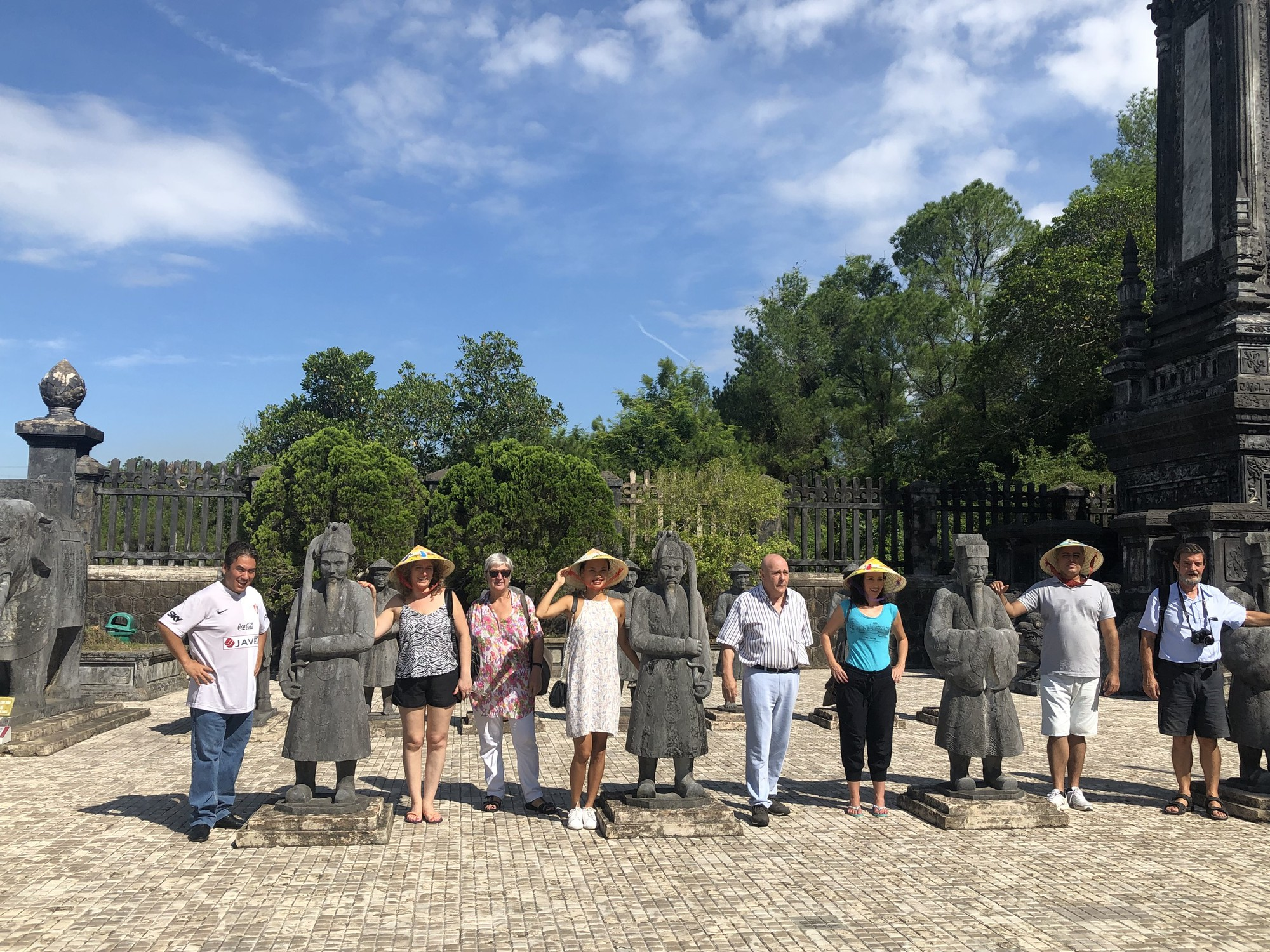 Spanish Famtrip delegation surveys Thua Thien Hue tourism