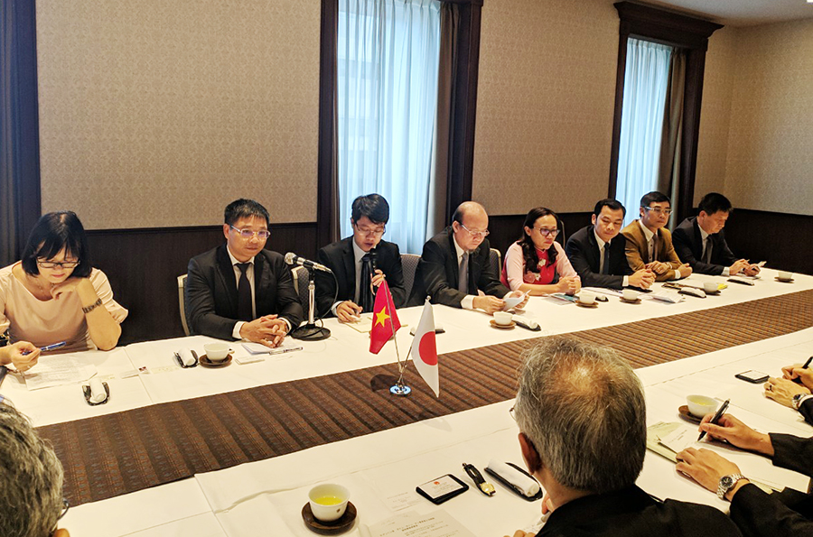 Quang Ninh delegation pays working visit to Japan