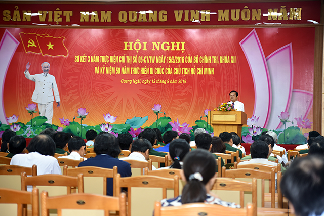 Creative models in studying and following ideology, morality and style of President Ho Chi Minh