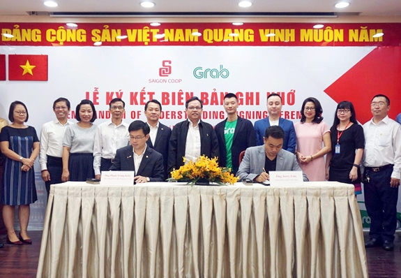 Saigon Co.op, Grab cooperate to increase utilities for customers