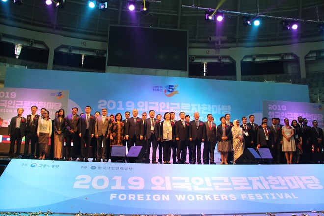 Vietnam attends foreign workers festival in RoK