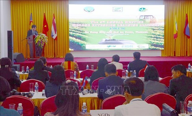 Mekong sub-region countries share experience in agricultural extension
