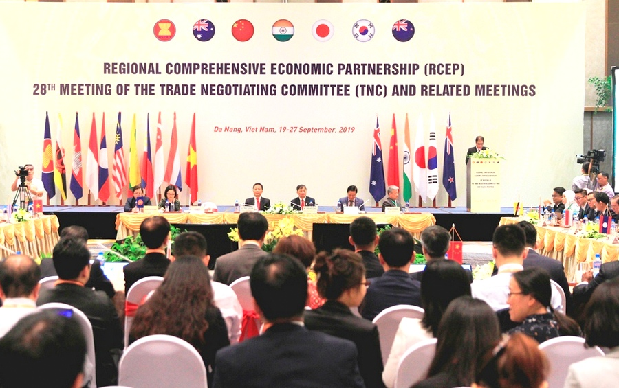 RCEP agreement to create world's largest free trade area