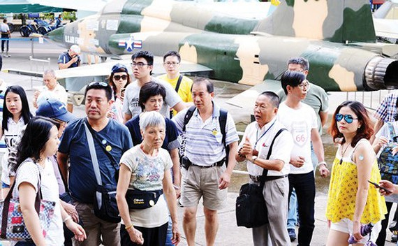 9 months: Over 6.2 million foreigners visit HCMC
