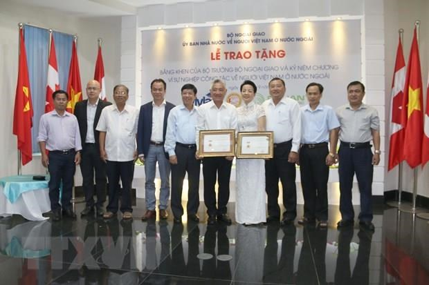 Vietnamese nationals honoured for proactive engagement in national campaign