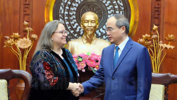 Ho Chi Minh City and US boost cooperation