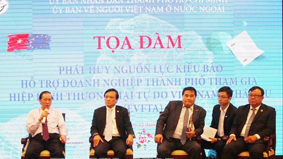 Overseas Vietnamese support HCMC businesses with EVFTA involvement