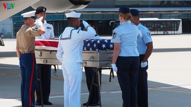 More remains of US servicemen repatriated