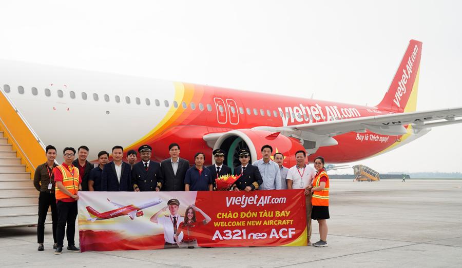 Vietjet operates world's first 240-seat A321neo ACF