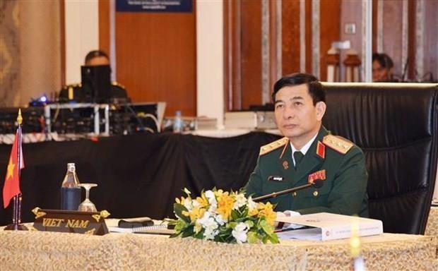 Vietnam's high-ranking military delegation visits Myanmar