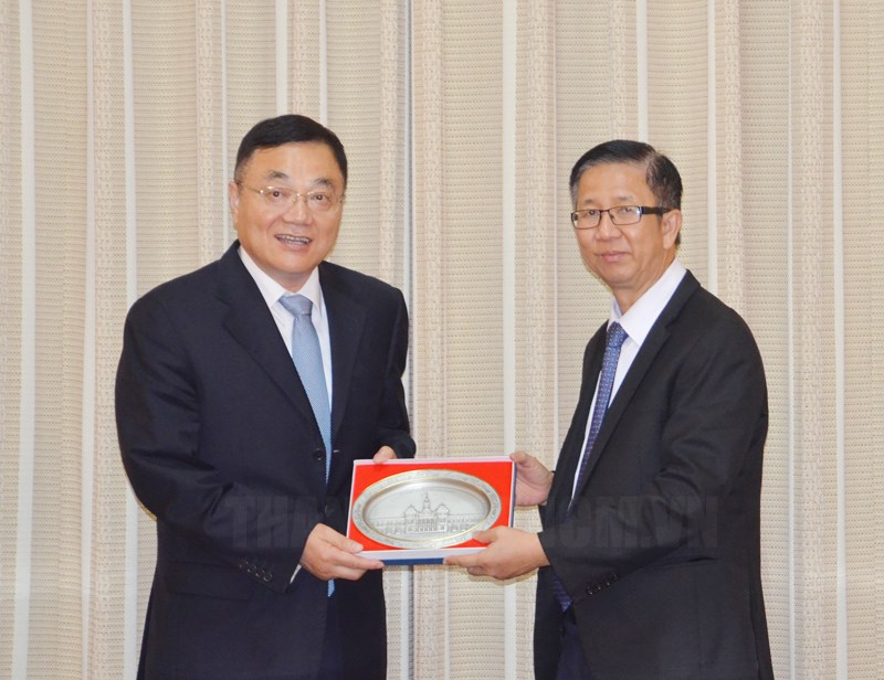 Ho Chi Minh City and China's Jiangsu province boost cooperation in many fields