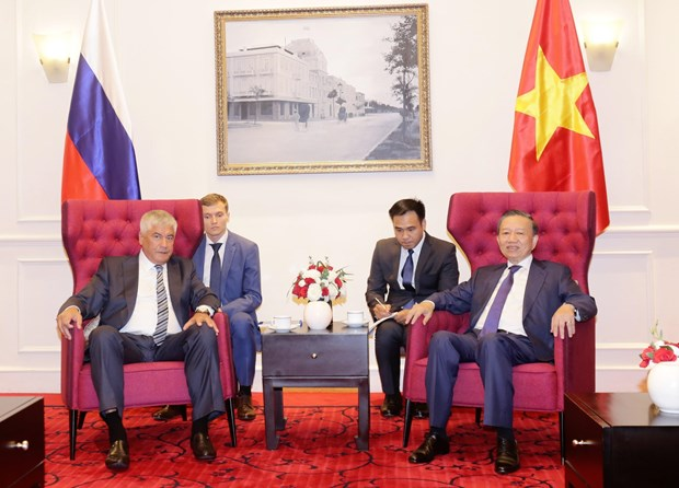 Vietnam, Russia promote collaboration in crime combat
