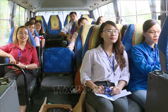 Bus routes opened to shuttle teachers to remote mountainous communes