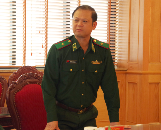 Editorial Board for Documents of 15th Border Guard Party Congress established