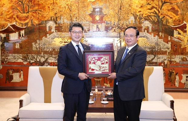 Hanoi boosts cooperation with Japan's Fukuoka prefecture