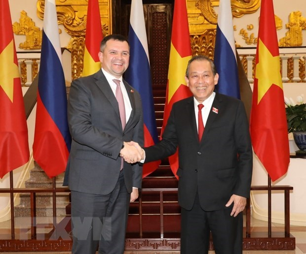 Vietnam supports Russia in enhancing role in Asia-Pacific: Standing Deputy PM