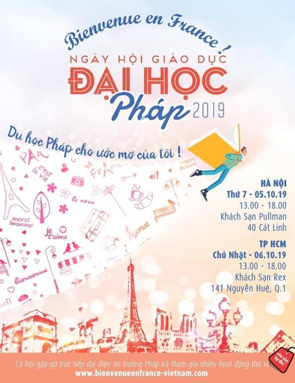 46 French universities to meet Vietnamese students