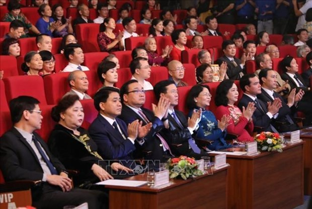 Hanoi honours 10 outstanding citizens of 2019