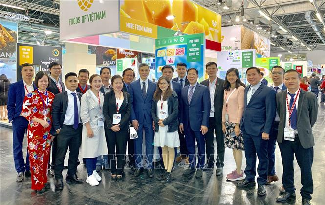 Vietnamese businesses participate in Germany's Anuga Food Fair