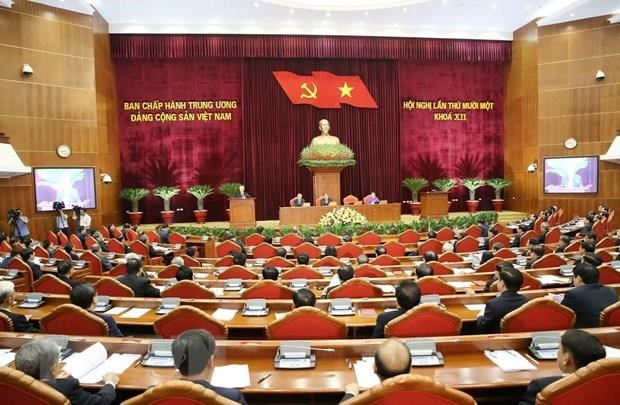Party Central Committee discuss draft reports on 11th plenum