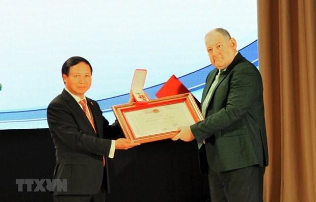 Vietnam presents Friendship Order to Pyatigorsk State University