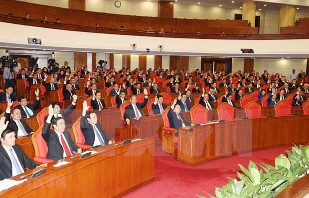 Sixth working day of Party Central Committee's 11th plenum