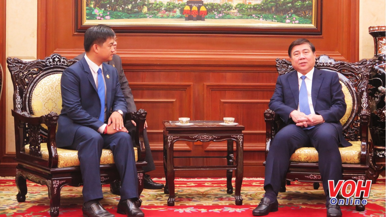 Ho Chi Minh City leader welcomes new Cambodian Consul General