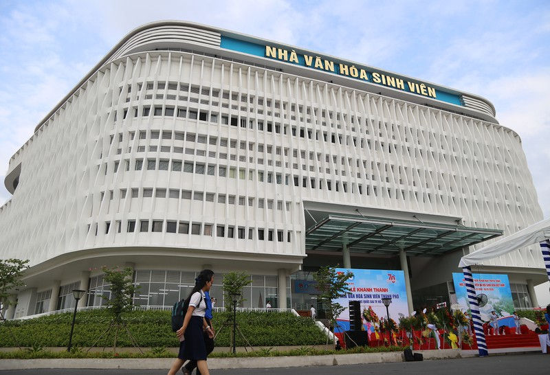 Ho Chi Minh city Student Cultural House inaugurated