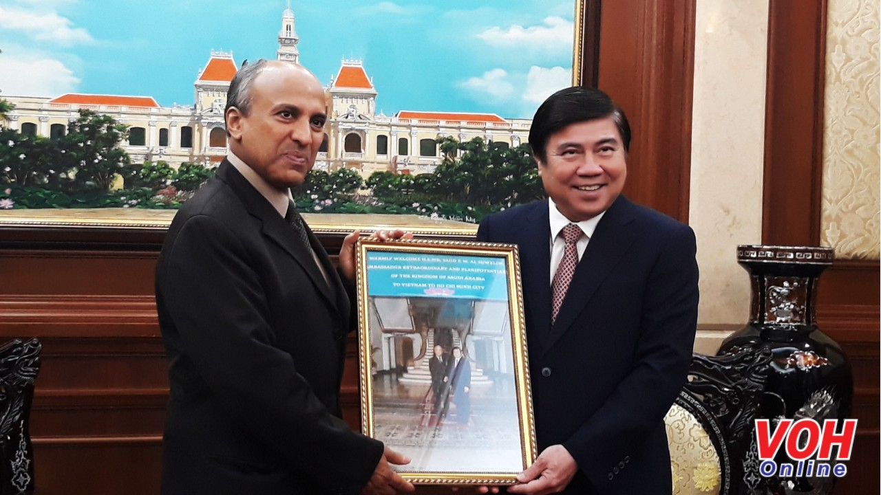 Ho Chi Minh city, Saudi Arabia cooperation promoted