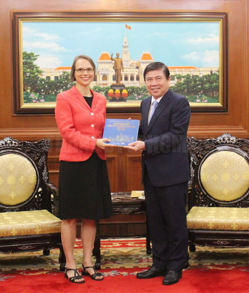 German ranks 13th among 106 countries and territories investing in HCMC