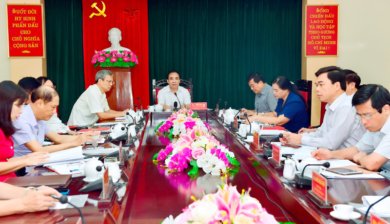 Tuyen Quang prepares Document for 17th provincial Party Congress