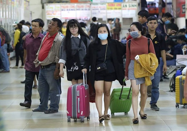 Ho Chi Minh City gives 35,000 tickets for workers to return home for Tet 2020
