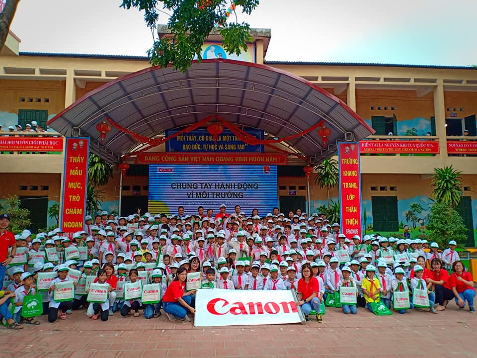 """Hand in hand for a green environment"" in Bac Giang province"