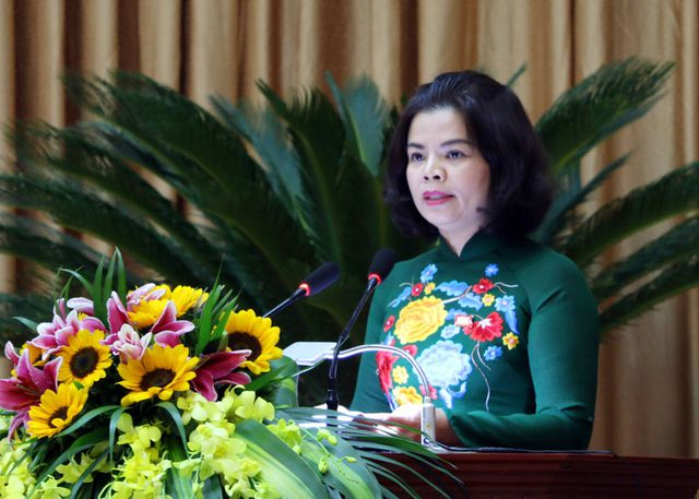 Ms. Nguyen Huong Giang approved as Chairwoman of Bac Ninh province