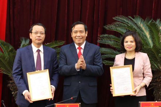 Bac Ninh has two new Deputy Secretaries