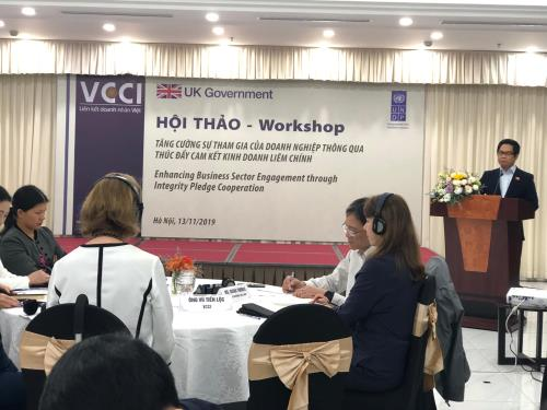 Business Associations lead the way in promoting business integrity in Viet Nam
