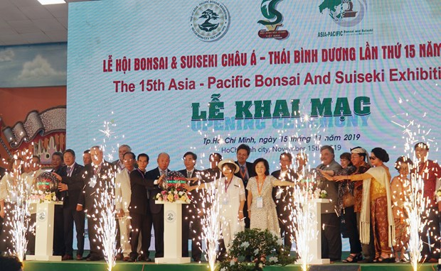 15th Asia-Pacific Bonsai & Suiseki Exhibition opens in Ho Chi Minh City