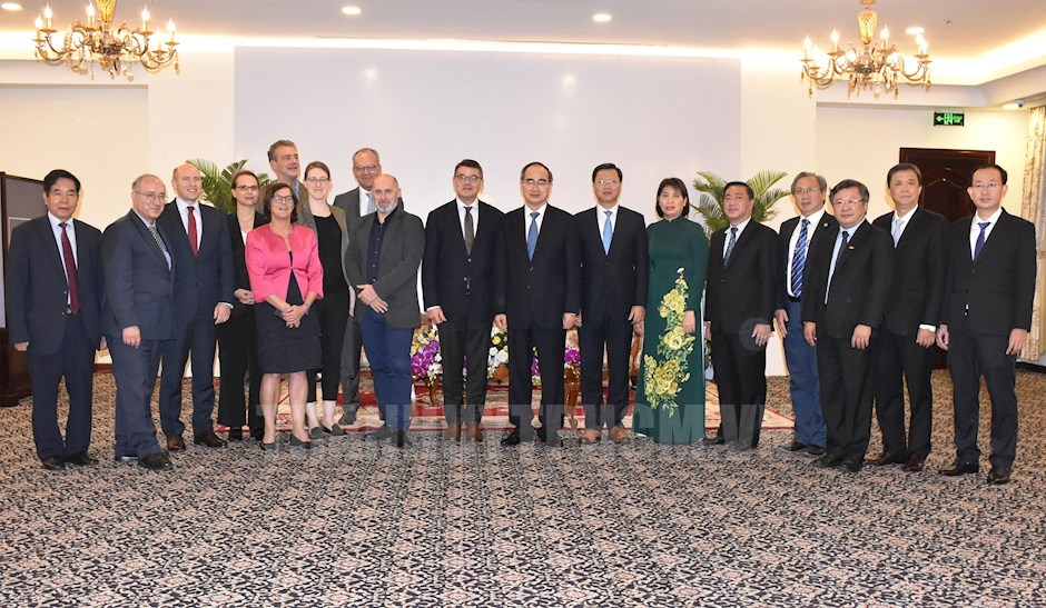 HCM city promotes cooperation with Germany's Hessen State