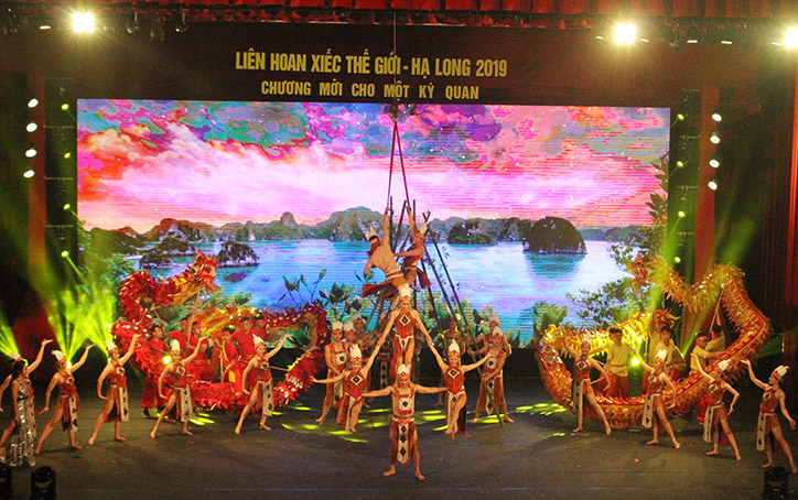 Impressive performances at Ha Long World Circus Festival 2019
