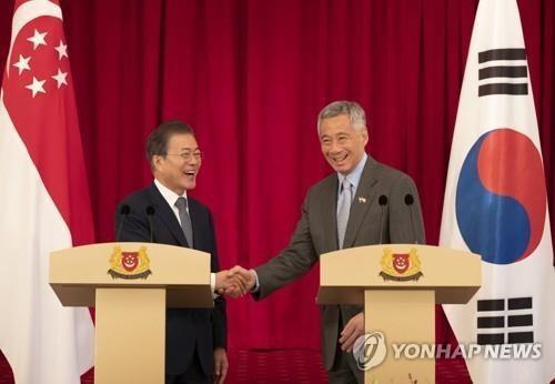 RoK, Singapore boost ties on smart city, arms development