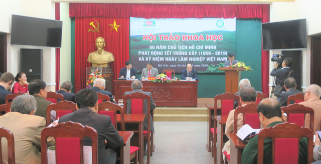 Seminar on 60 years since President Ho Chi Minh launched tree planting festival in Hanoi