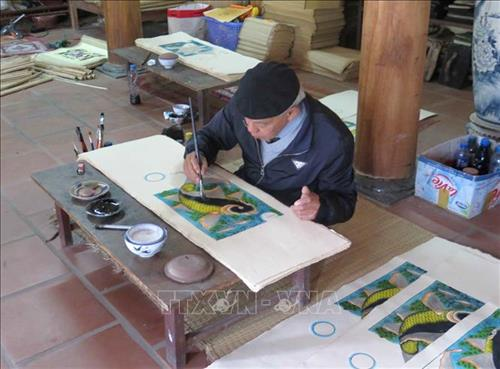 Dossiers on Dong Ho folk painting seek for UNESCO recognition