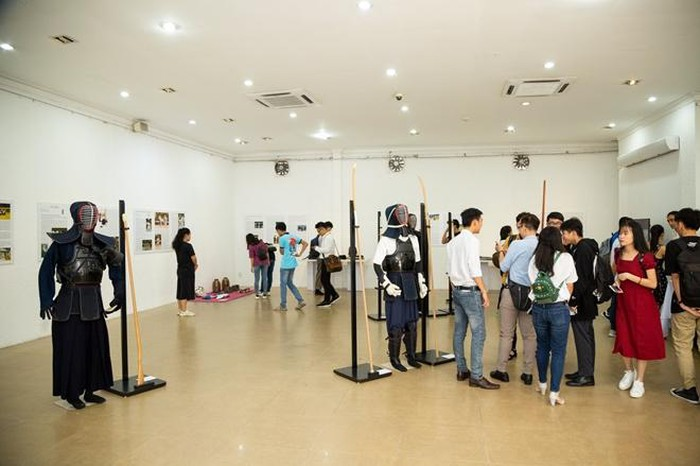 Studying Japanese martial arts through exhibition in HCM city